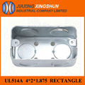 "2014HOT 4''*2"" Electrical Switch Galvanized steel box"