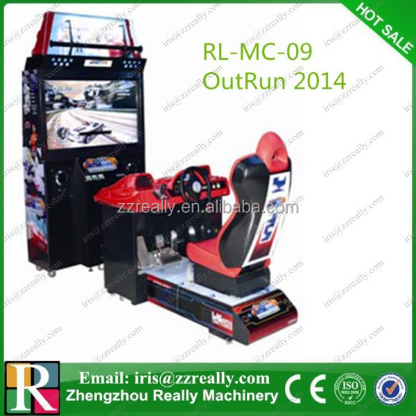 OutRun 2017 racing car games/ car racing game machine