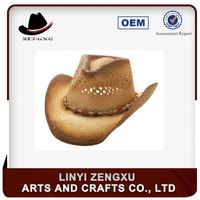 10 years experience best selling foldable cowboy hat and cap
