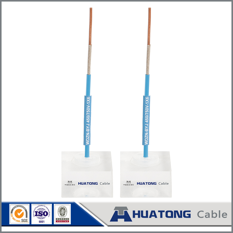 favourable price Single core PVC insulated copper cable 16mm BV house wiring