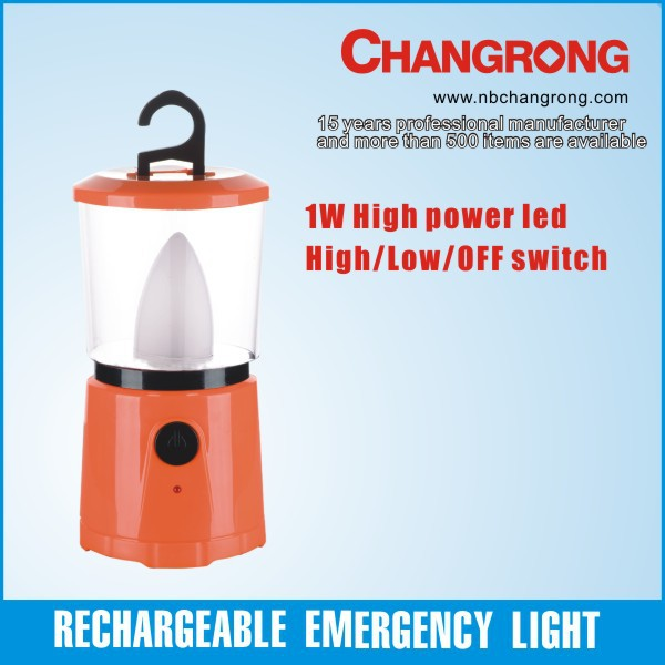 rechargeable portable led light AC DC emergency lamp auto light