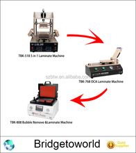 TBK Full Set LCD Repair Machine Frame Separate OCA Laminate LCD Laminating Machine