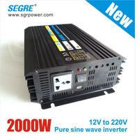 2000w pure sine wave power inverter 12vdc to 220vac