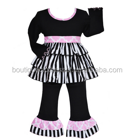 winter kids clothes 2015 wholesale name brand clothing boutique girl fall sets