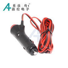 JIALUN Car Cigarette Lighter Power Adapter w/ On / Off Switch - Black (DC 12V)