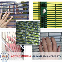 alibaba china 358 high security mesh fence for sale/fencing system factory