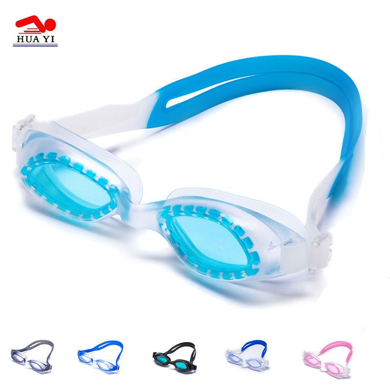 Swimming Pool Equipment Anti-fog Adult Custom Swim Goggles
