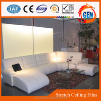 clear panel decoration pvc antirust stretch film