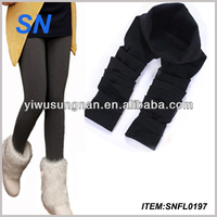 fleece lined extra thick tights warm winter pants warm leggings