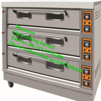 Stainless Steel Bakery Oven 3 Decks