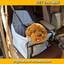 Wholesale hot sale colourful Oxford tridimensional waterproof adjustable folding front seat pet carrier with necklace haspDM-036