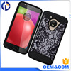 New Products On China Market Custom Printed Rugged Armor Oem Cell Phone Cover For Moto E4