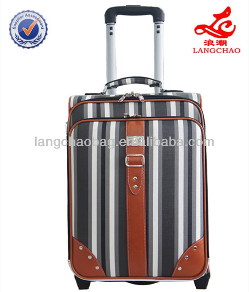 carry polo luggage steel suitcase aluminium cabin trolley luggage cheap pen case
