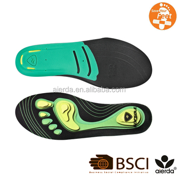 3 Height Comfort Sport Heel Arch Support Eva Orthotic Insole