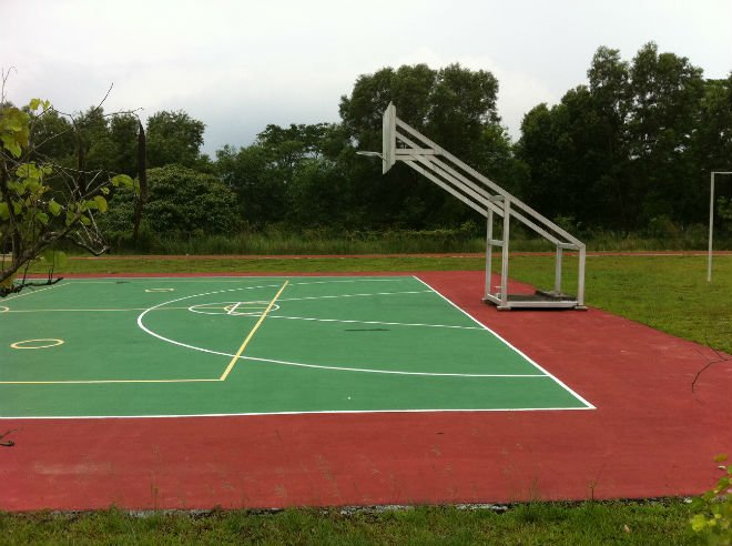 TENNIS COURT SPORTCOURT COATING SYSTEM