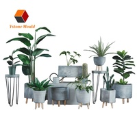 Fiberglass Flowet Pot Planter Molds Plastic Injection Mold