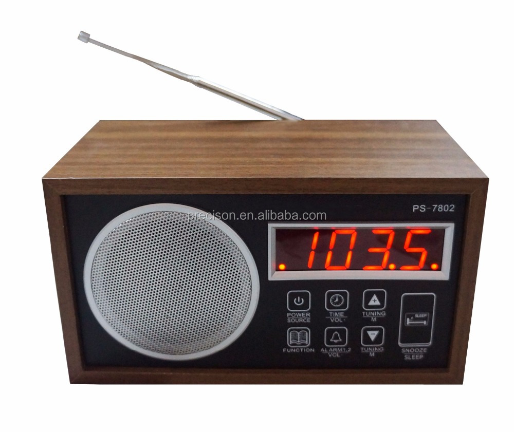 CLOCK RADIO with HIFI Speaker
