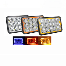 <strong>Auto</strong> Accessories Led Truck Light 45w 4 <strong>x</strong> 6&quot; Headlight/5&quot; Inch Square Headlight Led With DRL