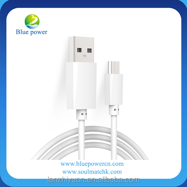 White color Wholesale High Speed Colorful Data Transfer <strong>Cable</strong> 1M Micro USB 5Pin phone charging <strong>cable</strong> for Smart Phone