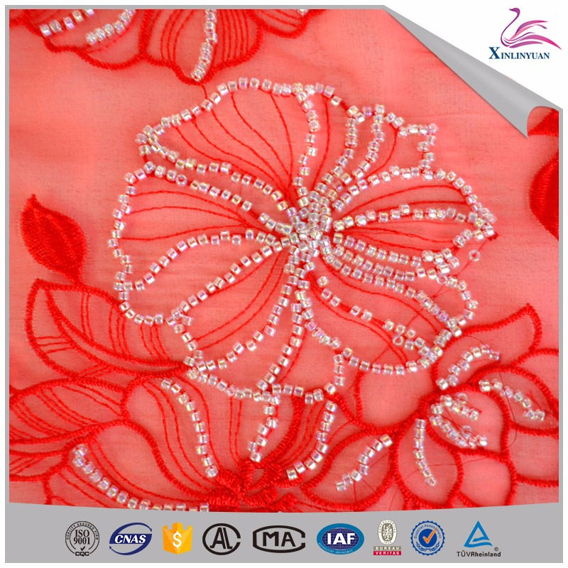 Soft beads collar lace