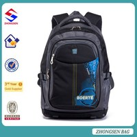 Made in China fashion college bags waterproof college bags for school 2015