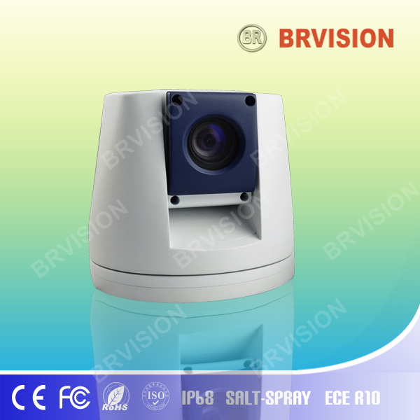 Robust ip ptz camera with digital monitor