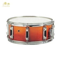 high quality wood shell side cheap snare drum