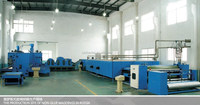 non glue polyester wadding production line(padding line)