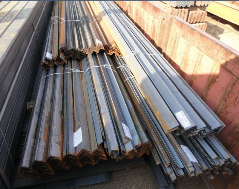 Mild steel angle weight of steel angle iron(Q235B Q345B S275JR S355JR SS400 ASTM A36)