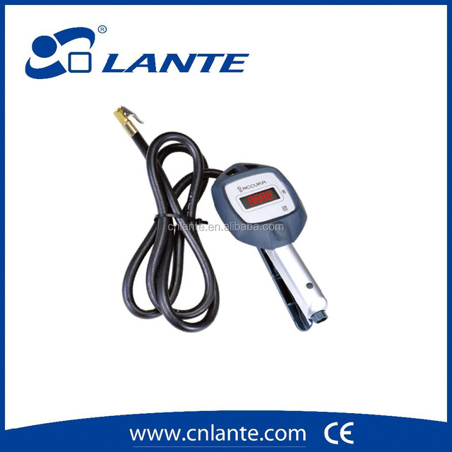 TMPS tire pressure monitor system inflating gun air gauge