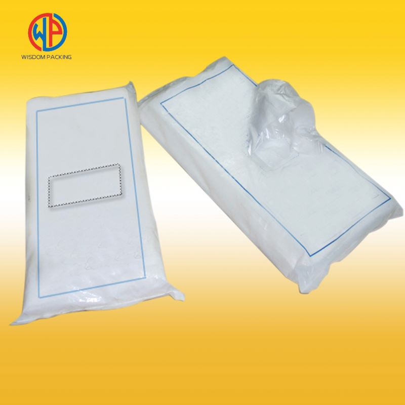Good Transparency Frozen Food Packaging Pouch Bag