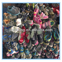 second hand shoes--mixed used shoes for children
