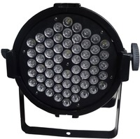 Manufacture led light 60RGBWA 5colors led par light DMX indoor par light