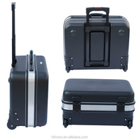 OEM Waterproof Shockproof Aluminum Tool Trolley Case