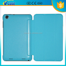 2015 Wholesale High Quality TPU+PU Pc Tablet Leather Cover With Stand For Lenovo A3300 Case