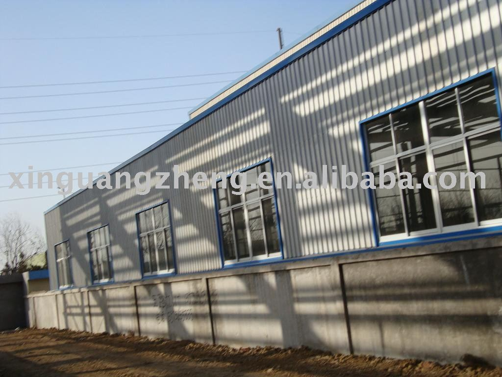 afforadable, multifunctional sheet metal houses prefabricated steel structure workshop