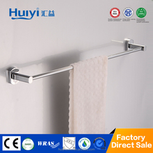 2015 New design bathroom accessories stainless steel and zinc alloy chrome single towel bar HY-8301