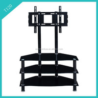 living room furniture lcd tv stand design/movable lcd tv stand