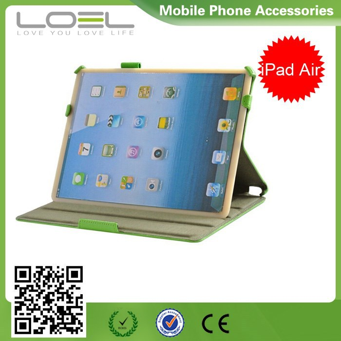 Hand Strap Leather Case Cover For Apple iPad Air