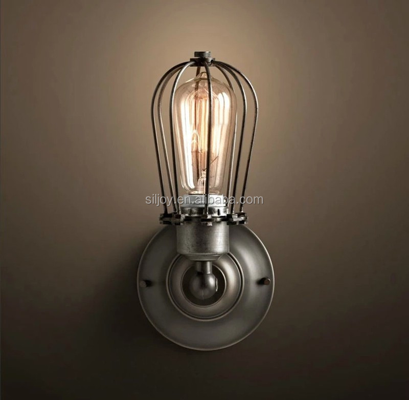 American Style Edison Vintage Iron Industrial Wall Sconce Lamp/ Edison Lighting Fixture