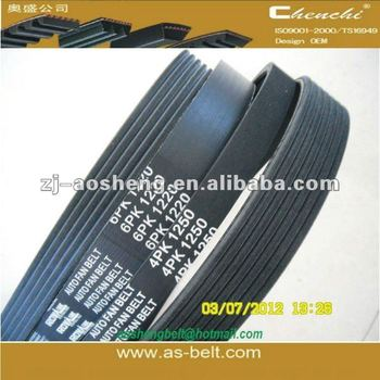 drive automotive epdm car parts of chevrolet rubber timing pk belt pulley fan belt poly ribbed dongil v belt