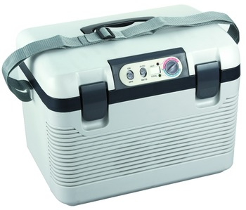 peltier thermoelectric cooler 12v car fridge with temperature display 18L