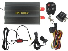 2016 Car Vehicle SMS/GPS/GSM/GPRS Tracker Tracking Realtime System With Remote Control Device TK103B