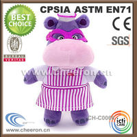 Own personality and charm hippo for christmas