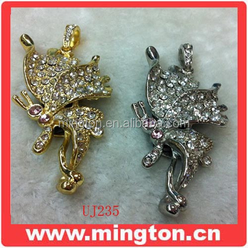 Jewelry butterfly spirit usb memory stick 32gb