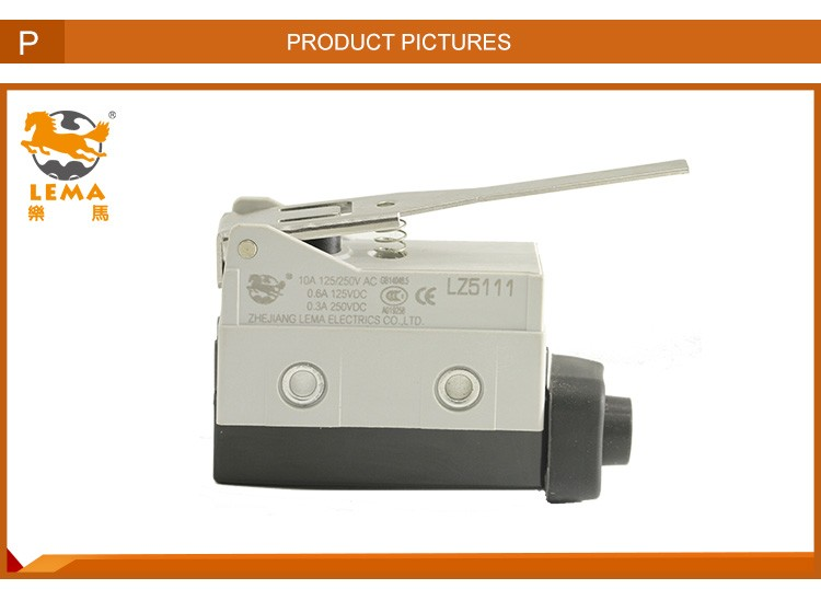 Customized LZ5111 high quality electrical plunger limit switch