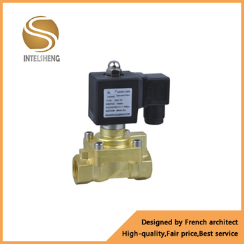 Factory direct high pressure 7 mpa 70 bar electric actuator brass solenoid valve