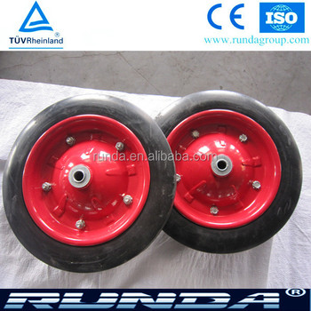 "OEM brand 13""x3"" solid wheel"