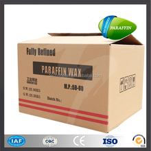 China 25kg carton solid fully refined paraffin wax semi refined paraffin