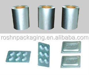 cold form aluminum blister foil for pharmaceutical solutions